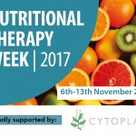 Annual Nutritional Therapy Week on 6th to 13th November 2017