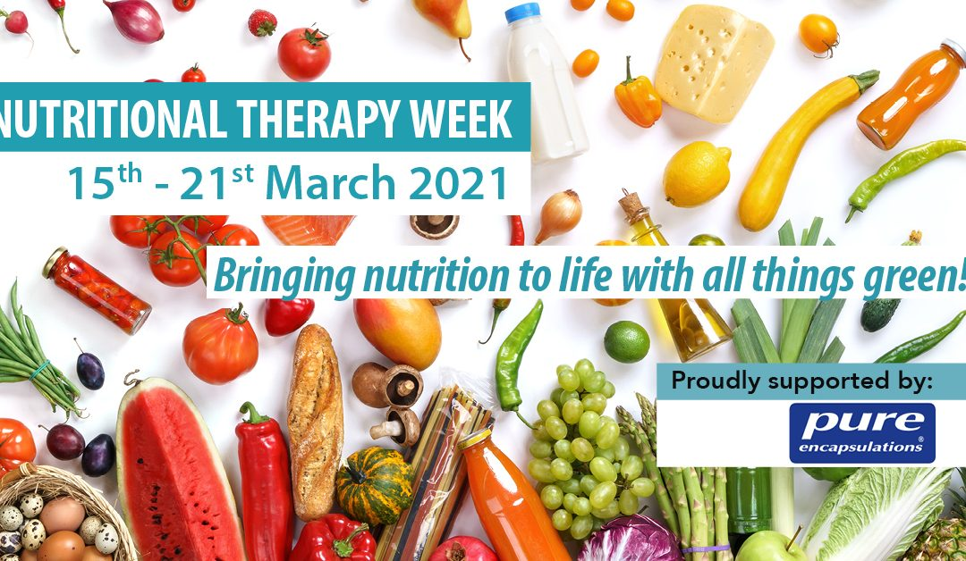 NTOI Nutritional Therapy Week 2021